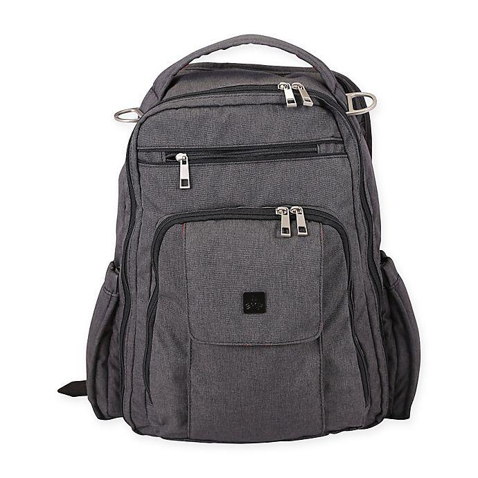 6cf9dc21582a Ju-Ju-Be® Onyx Be Right Back Diaper Bag in Chrome