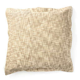 Amity Home Everette Herringbone European Pillow Sham in Natural