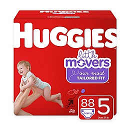 Huggies® Little Movers 88-Pack Size 5 Mega Colossal Diapers