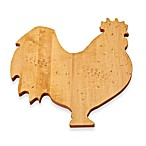 J.K. Adams Co. Novelty Rooster Cutting Board
