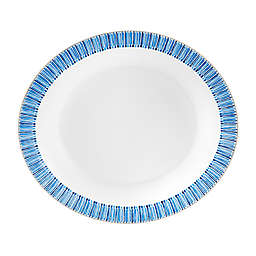 Monique Lhuillier Waterford® Malibu Azure Oval Vegetable Bowl