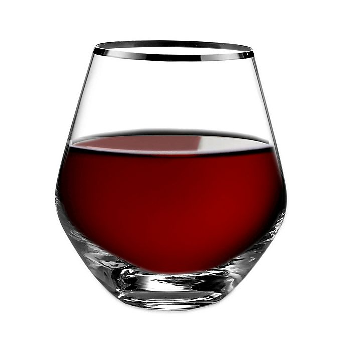 Alternate image 1 for Fitz and Floyd® Michel Stemless Wine Glasses (Set of 4)