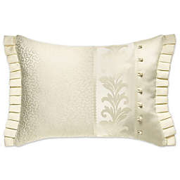 J. Queen New York™ Marquis Oblong Throw Pillow in Ivory