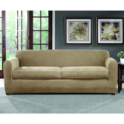 Sure Fit 174 Ultimate Stretch Chenille Sofa Slipcover Bed