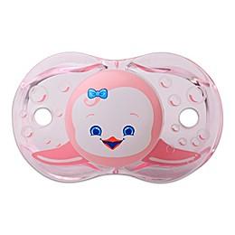 RaZbaby® Keep-It-Kleen® Peguin Pacifier in Pink