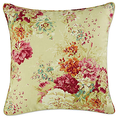 Sure Fit® Ballad Bouquet by Waverly™ Knife Edge Pillow Slipcover