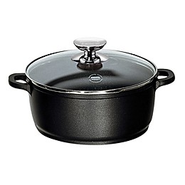 Berndes® Vario Click Induction Nonstick Round Dutch Oven in Black