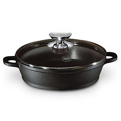 Berndes® Vario® Click Induction Nonstick Saute Casserole Pan in Black