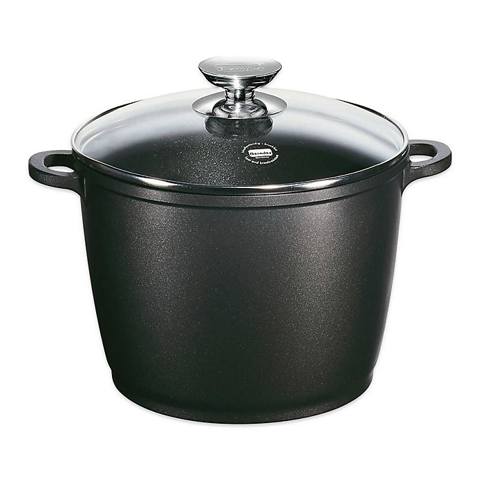 Alternate image 1 for Berndes® Vario® Click Induction Nonstick Stock Pot in Black