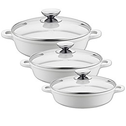 Berndes® Vario Click Pearl Ceramic Induction Casserole Dish with Lid