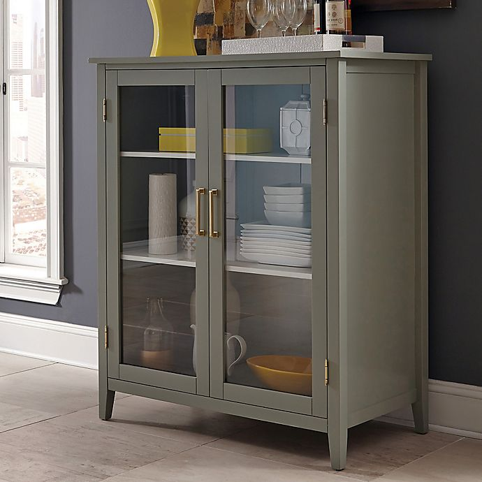 Donny Osmond Storage Bedroom Bench Reviews: Donny Osmond Caprice Cabinet In White/Grey
