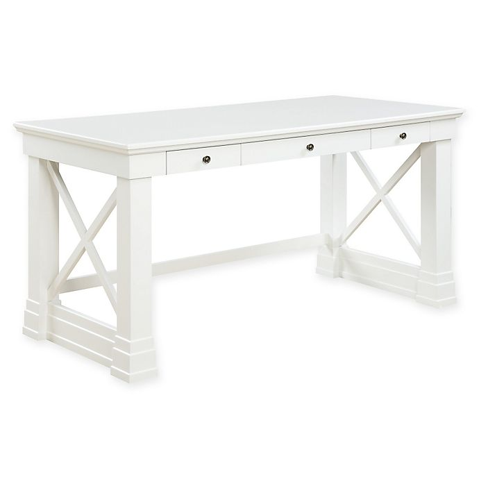 Alternate image 1 for Johansson Desk in Antique White - Johansson Desk In Antique White Bed Bath & Beyond