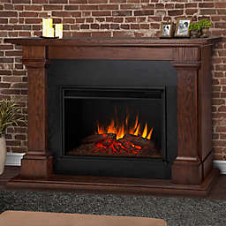Real Flame® Callaway Grand Electric Fireplace in Chestnut