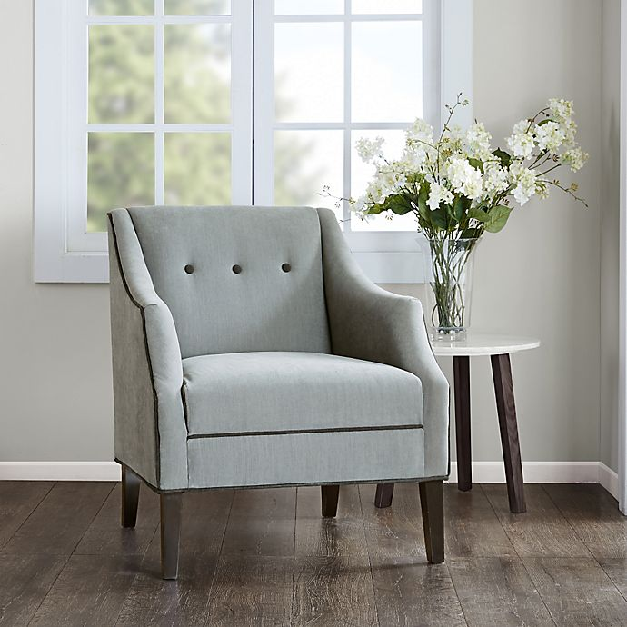 Alternate image 1 for Madison Park Miranda Club Accent Chair in Charcoal