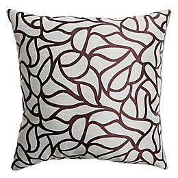 Softline Home Fashions Geometric Jacquard Square Throw Pillow