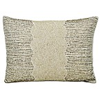 Layton Home Fashions Dreamy Beaded Oblong Throw Pillow in Beige