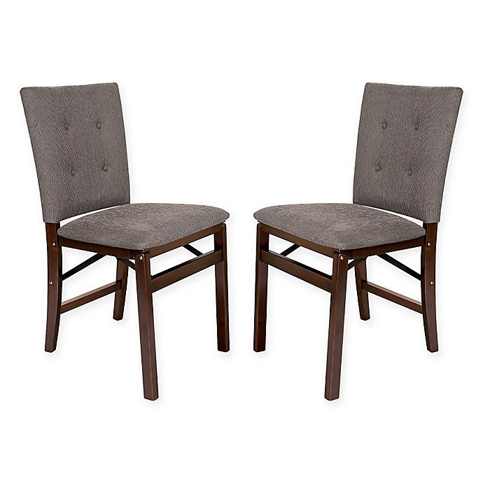 Alternate image 1 for Folding Parsons Chairs (Set of 2)