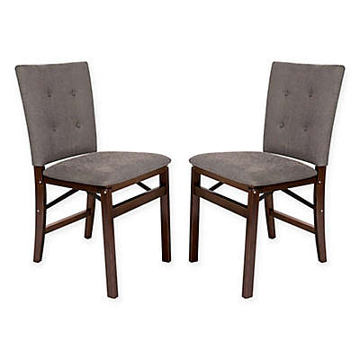 Folding Parsons Chairs (Set of 2)