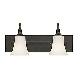 Sea Gull Collection by Generation Lighting 2-Light Vanity Fixture in Oil Rubbed Bronze