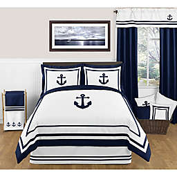 Sweet Jojo Designs Anchors Away Bedding Collection