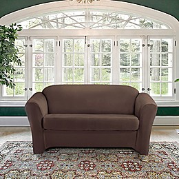 Astonishing T Cushion Loveseat Slipcovers Bed Bath Beyond Spiritservingveterans Wood Chair Design Ideas Spiritservingveteransorg