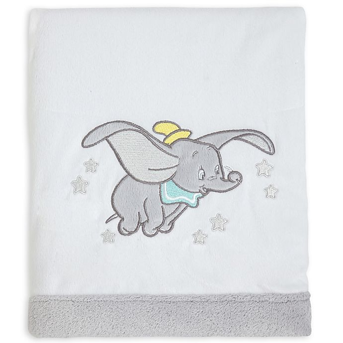 Alternate image 1 for Disney® Baby Dumbo Dream Big Velboa Blanket