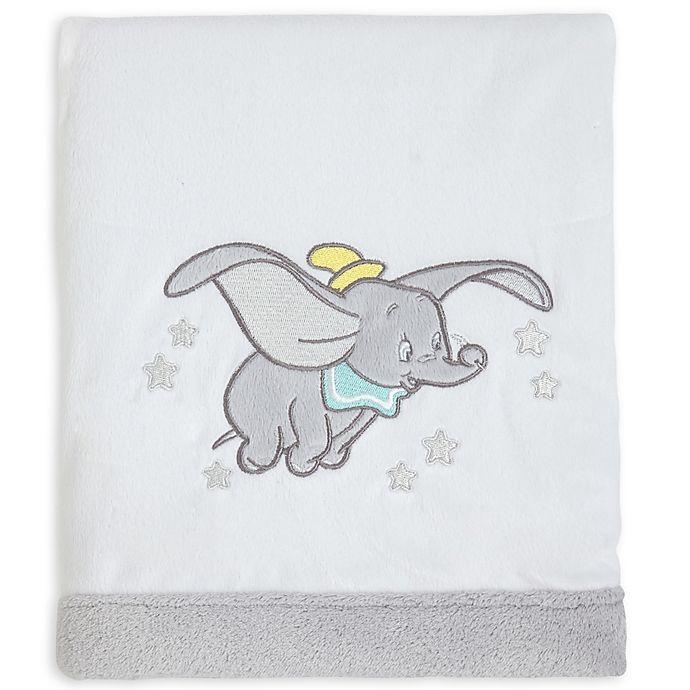 Alternate image 1 for Disney® Baby Dumbo Dream Big Velboa Blanket