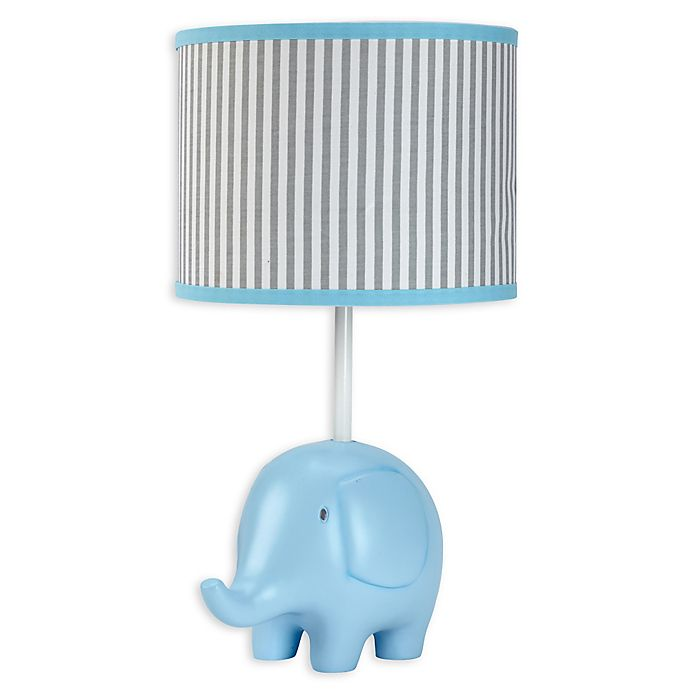 Alternate image 1 for Zutano® Elefant Blau Lamp Base and Shade