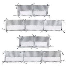 Zutano® Elefant Blau Secure-Me Crib Liner