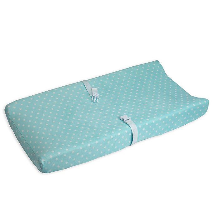 Alternate image 1 for carter's® Star Velboa Changing Pad Cover