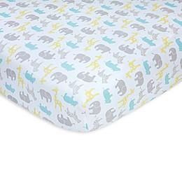 carter's® Safari Sateen Fitted Crib Sheet