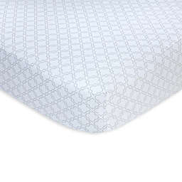 carter's® Trellis Sateen Fitted Crib Sheet