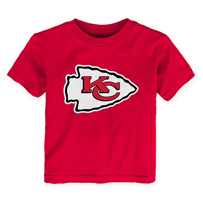 buy popular b80d7 47d66 NFL Kansas City Chiefs Jersey Crewneck T-Shirt | Bed Bath ...