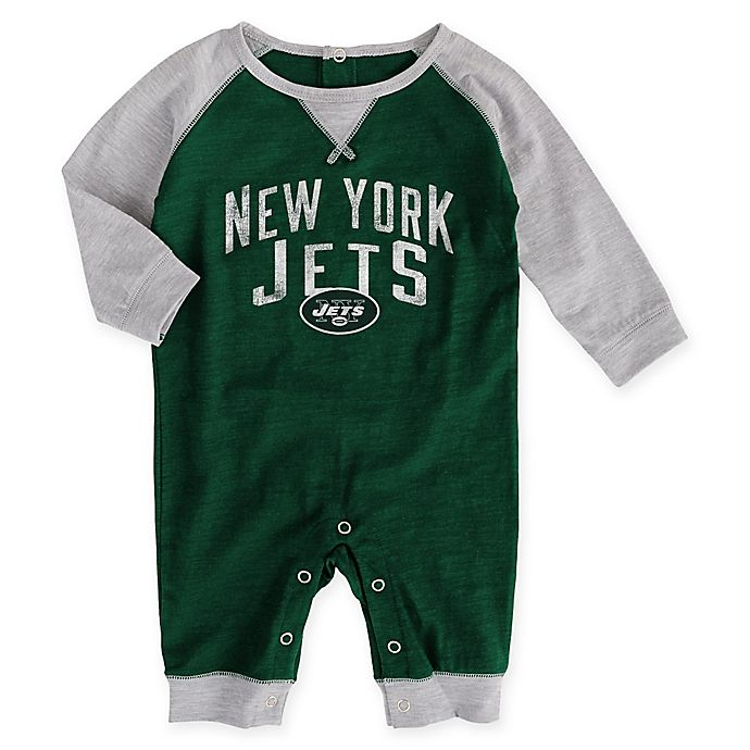 newest 66dc6 8f22f NFL New York Jets Jersey Romper | Bed Bath & Beyond