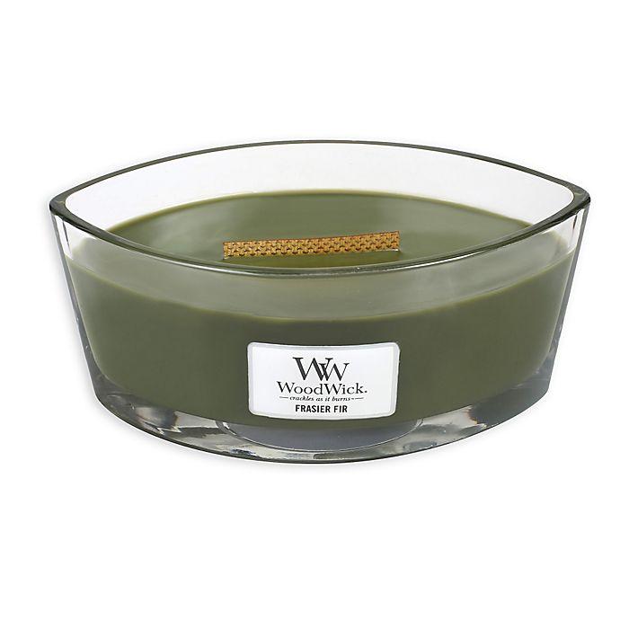 Alternate image 1 for WoodWick® Frasier Fir Oval Jar Candle