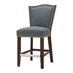 Madison Park Nate Counter Stool in Grey