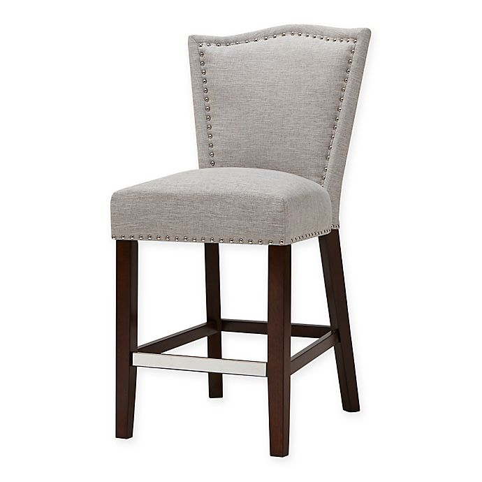 Alternate image 1 for Madison Park Nate Counter Stool in Cream