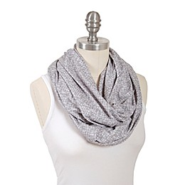 Bébé au Lait® Lexington Infinity Nursing Scarf in Tan/White