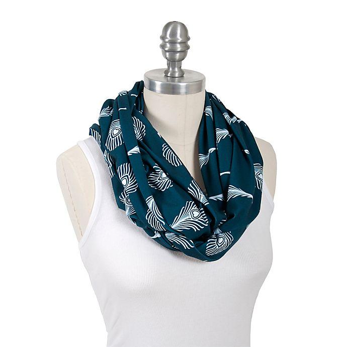 Alternate image 1 for Bébé au Lait® 100% Cotton Jersey Infinity Nursing Scarf in Mayura