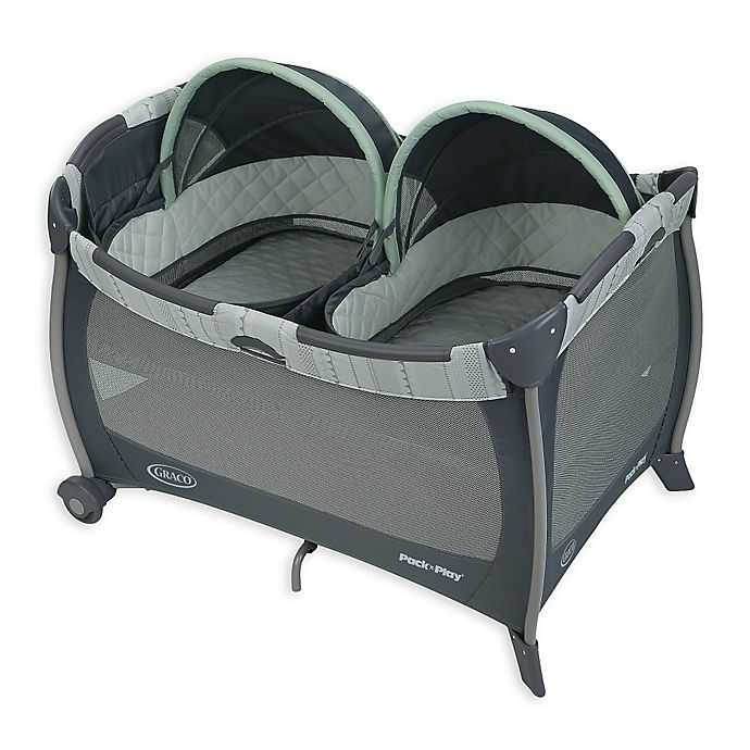 Alternate image 1 for Graco® Pack 'n Play® Playard with Twin Bassinets in Mason™