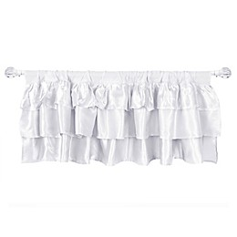 Tadpoles Ruffle Satin Window Treatments