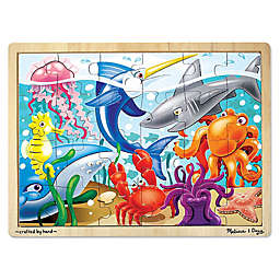 Melissa & Doug® Under The Sea 24-Piece Wooden Jigsaw Puzzle