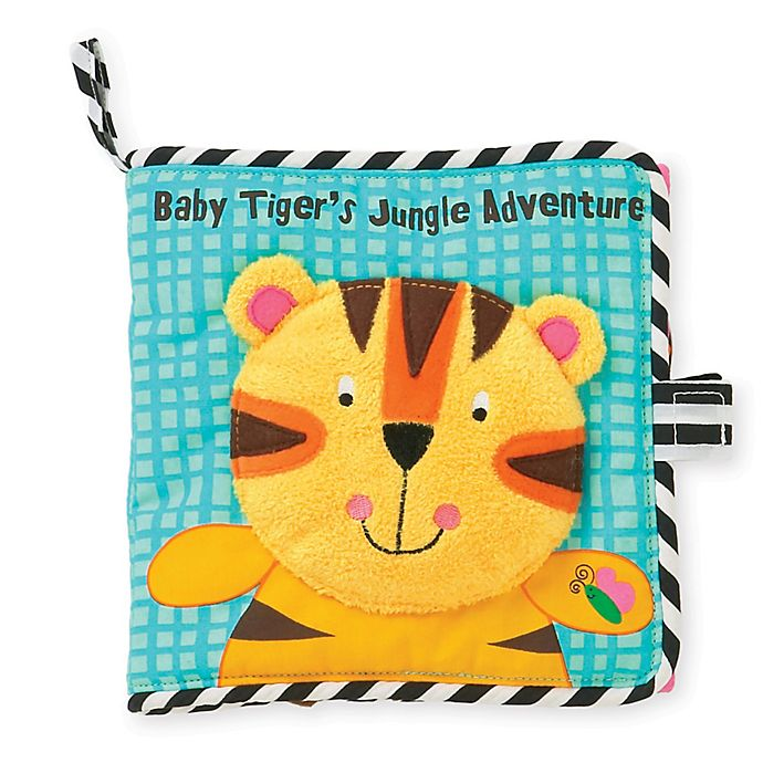 Alternate image 1 for Manhattan Toy® Baby Tiger's Jungle Adventure Book