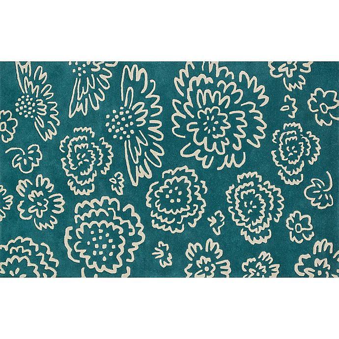 Alternate image 1 for Loloi Rugs Nova 7-Foot 6-Inch Square Area Rug in Teal