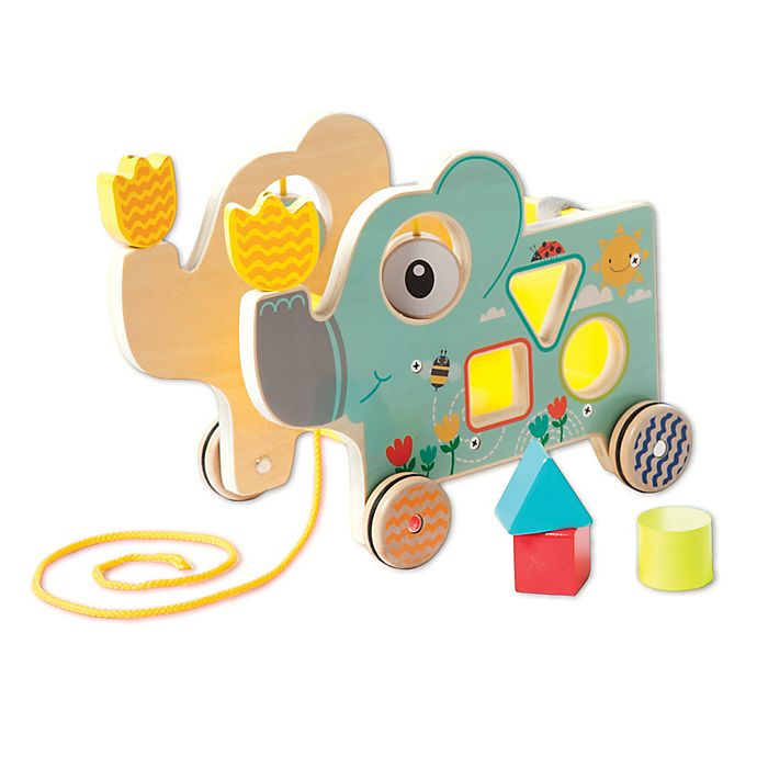 Alternate image 1 for Manhattan Toy® Pull Along Elly