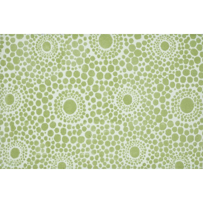 Alternate image 1 for Loloi Rugs Piper Rug in Bubble Green