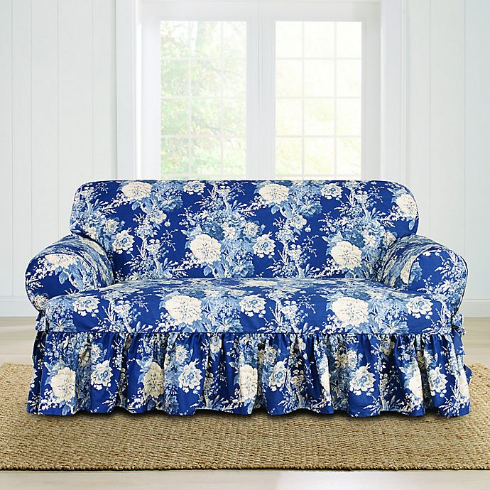 Super Sure Fit Ballad Bouquet By Waverly T Cushion Loveseat Andrewgaddart Wooden Chair Designs For Living Room Andrewgaddartcom