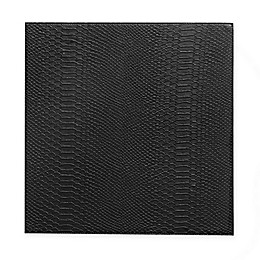 Kenneth Cole Kent Faux Snakeskin Placemat in Black