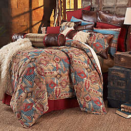 HiEnd Accents Ruidoso Comforter Set in Turquoise