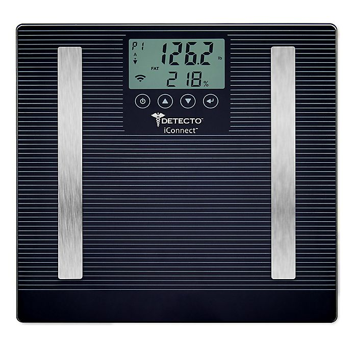 Detecto Iconnect Smart Lcd 8 In 1 Digital Scale Bed Bath
